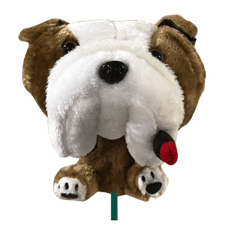 Funda de golf de animales para madera - Bull dog