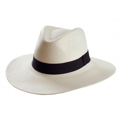Sombrero Panamá con cinta personalizada 4c22a638bf3
