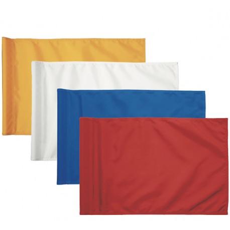 Juego de banderas lisas para el putting green
