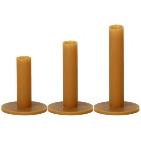 Tees de goma de caucho - Varias medidas