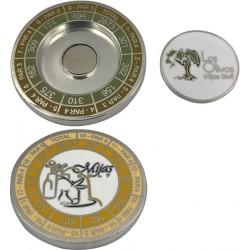 Moneda con marcador extraible - Sin relieve